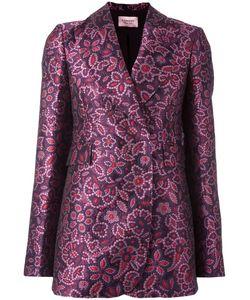Lanvin | Jacquard Detail Blazer 36 Acetate/Polyester/Acrylic/Viscose