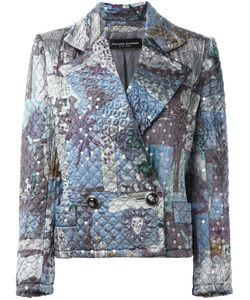 Jean Louis SCHERRER VINTAGE   Sequin Quilted Jacket 38