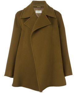 SYSTEM | Short Oversized Coat Medium Cashmere/Wool