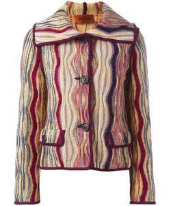 MISSONI VINTAGE | Patterned Striped Jacket 44