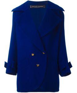 Jean Louis SCHERRER VINTAGE   Button Front Short Coat 40