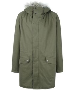 YVES SALOMON HOMME | Classic Parka Adult Unisex 50 Cotton/Rabbit