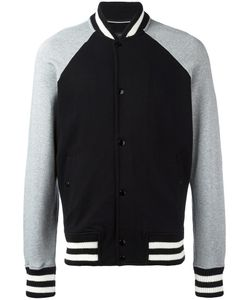 Rag & Bone | Striped Detailing Bomber Jacket Small