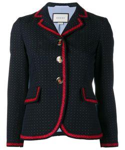 Gucci   Polka Dot Blazer 44 Cotton/Wool/Viscose/Acrylic