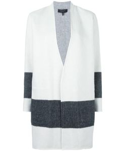 Rag & Bone | Striped Detailing Open Coat Small