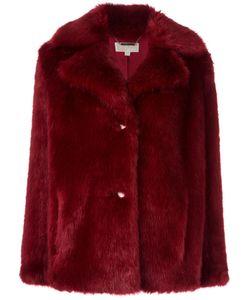 Michael Michael Kors   Fur Effect Short Coat Small