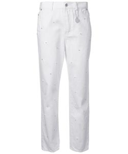 Muveil | Pearl Embellished Jeans 36 Cotton