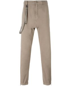 Helmut Lang | Loops Strap Slim-Fit Trousers 36 Cotton/Cashmere