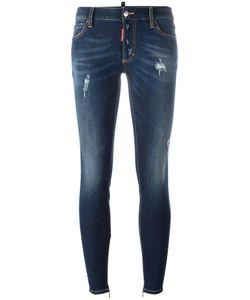 Dsquared2 | Twiggy Light Bleach Jeans 42 Cotton/Spandex/Elastane