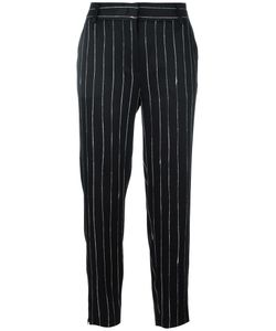 DKNY | Satin Pinstripe Trousers Size 6 Viscose