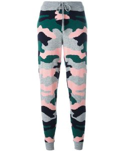 Chinti And Parker | Camouflage Intarsia Track Pants Medium