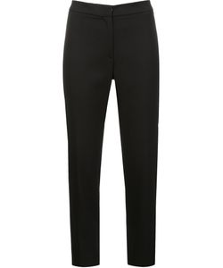 Carolina Herrera | Skinny Cropped Trousers 8 Cotton/Spandex/Elastane