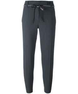 Brunello Cucinelli | Tailored Cropped Trousers 48 Virgin Wool/Polyamide/Spandex/Elastane/Cupro