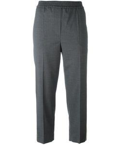 Brunello Cucinelli | Side Stripe Cropped Trousers 40 Virgin