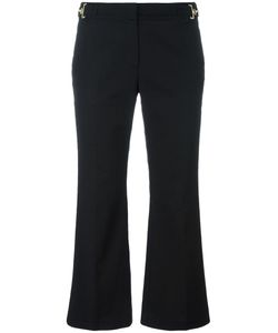 Michael Michael Kors | Cropped Flared Trousers 0 Cotton/Spandex/Elastane