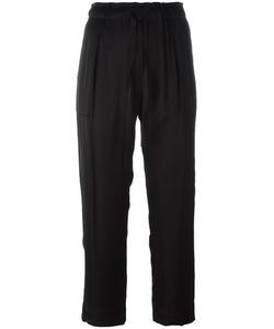 Raquel Allegra | Drawstring Cropped Trousers 2 Cotton/Viscose