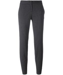 Dolce & Gabbana | Cropped Trousers 46 Virgin Wool/Spandex/Elastane