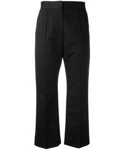 Marni | Cropped Straight Leg Trousers 40 Cotton/Linen/Flax