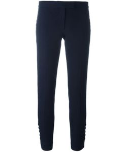 Joseph | Buttoned Detail Cropped Trousers 34 Viscose/Cotton/Spandex/Elastane/Acetate