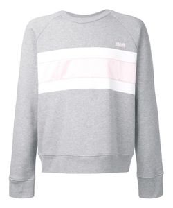 Ami Alexandre Mattiussi   Striped Sweatshirt Xxl Cotton