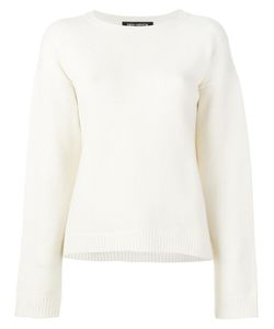 IRIS VON ARNIM | Round Neck Jumper Small Cashmere