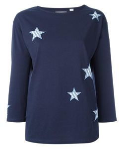 Chinti And Parker | Stars Appliqué T-Shirt Xs Cotton