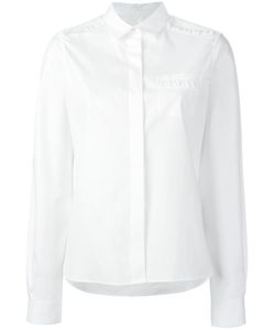 Chinti And Parker | Frill Detailing Oxford Shirt Xs