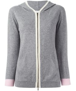 Chinti And Parker | Colour Block Hoodie Small Cashmere