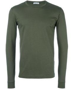Tomas Maier | Crew Neck Slim Sweatshirt Medium Cotton
