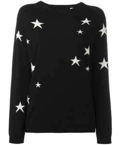 Chinti And Parker | Slouchy Star Jumper Small Cashmere