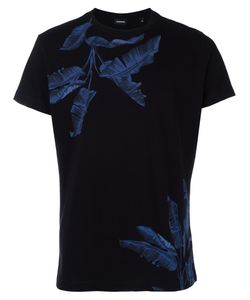Diesel | Tropical Print T-Shirt Medium Cotton