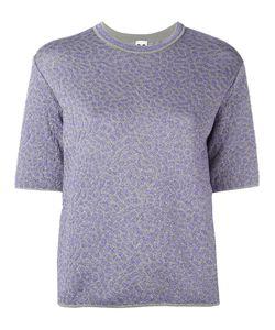 Missoni   M Motif Knitted T-Shirt 42 Polyamide/