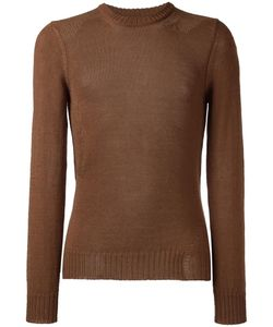 Maison Margiela | Loose Knit Detail Sweater Large Mohair/Cotton