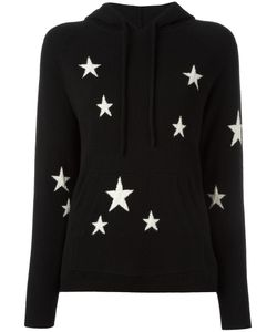Chinti And Parker | Star Hoodie Xs Cashmere
