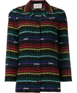 Gucci | Signature Print Pyjama Shirt 48 Silk