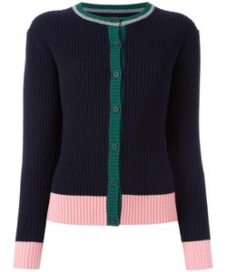 Chinti And Parker | Ribbed Colour Block Cardigan Xs