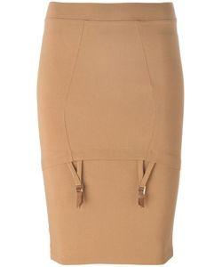 Murmur | Mid Waist Piet Skirt Medium Nylon/Spandex/Elastane/Rayon