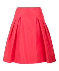 Carolina Herrera | Faille Party Skirt 10 Silk