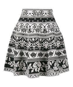 Alexander McQueen | Jacquard Knit Mini Skirt Medium Viscose/Polyester/Polyamide/Spandex/Elastane