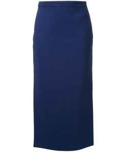 SCANLAN THEODORE | Scuba Side Slit Skirt 10 Polyester