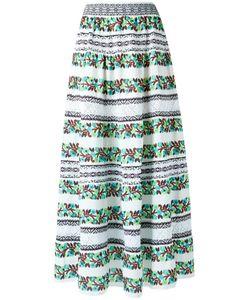 CECILIA PRADO | Knit Maxi Skirt Medium Cotton/Acrylic