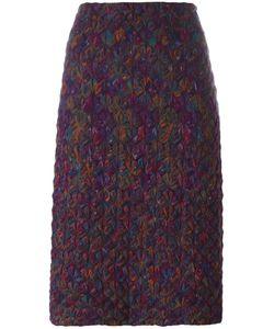MISSONI VINTAGE | Knitted Pencil Skirt 42