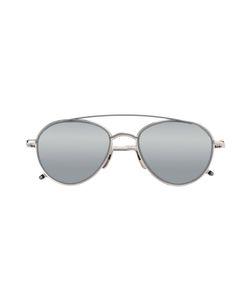 Thom Browne | Aviator Sunglasses Acetate/Titanium/Glass