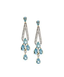 LUIS MIGUEL HOWARD | 18kt And The Deco Earrings