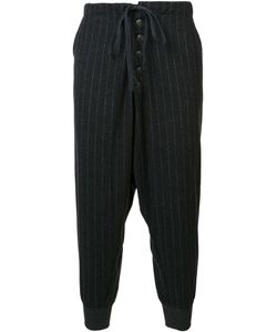 GREG LAUREN   Striped Lounge Pants 2 Wool/Rayon/Cotton