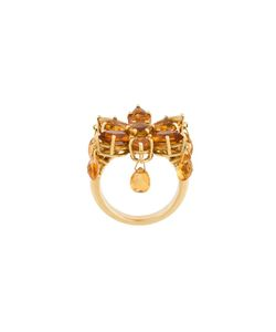 LUIS MIGUEL HOWARD | Citrine Daisy Ring 52