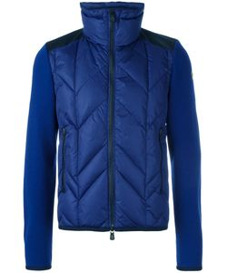 Moncler Grenoble | Padded Front Knitted Cardigan Small Feather