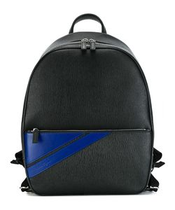Salvatore Ferragamo | Striped Pocket Backpack Calf Leather