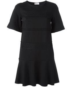Red Valentino   Lace Straps T-Shirt Dress Medium Polyamide/Spandex/Elastane/Viscose