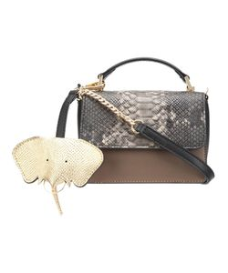 CHRISTIAN SIRIANO | Snakeskin Detail Crossbody Bag Pvc